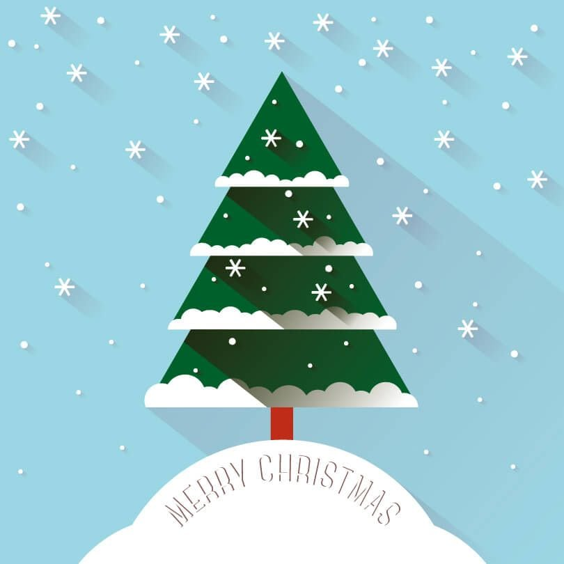 Christmas-Snow-Tree-Vector